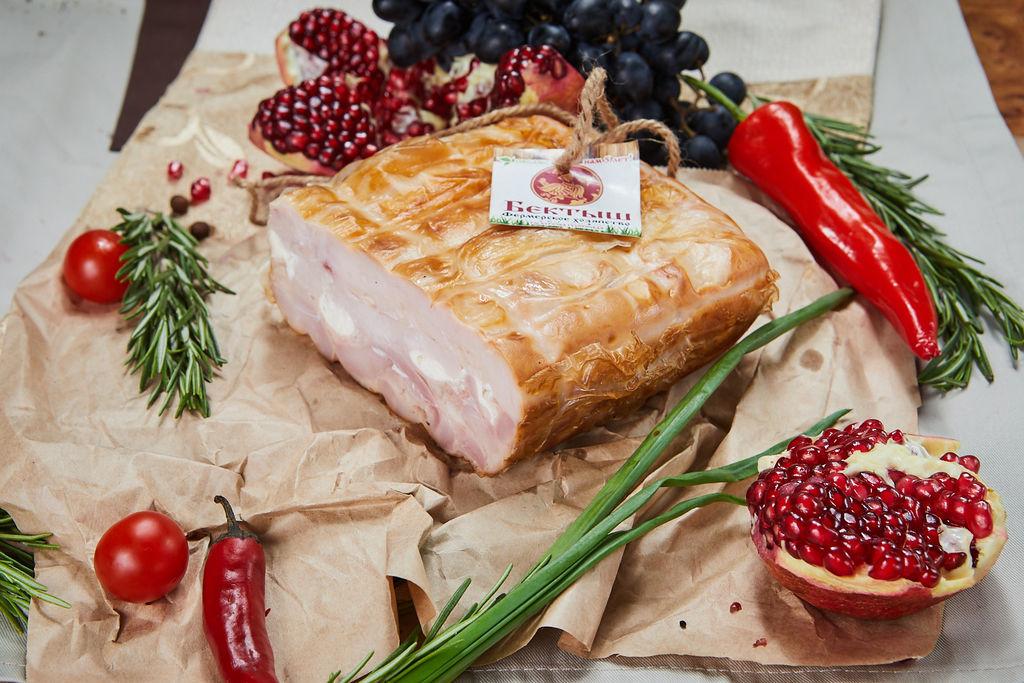 Мясо прессованное со сливочным сыром