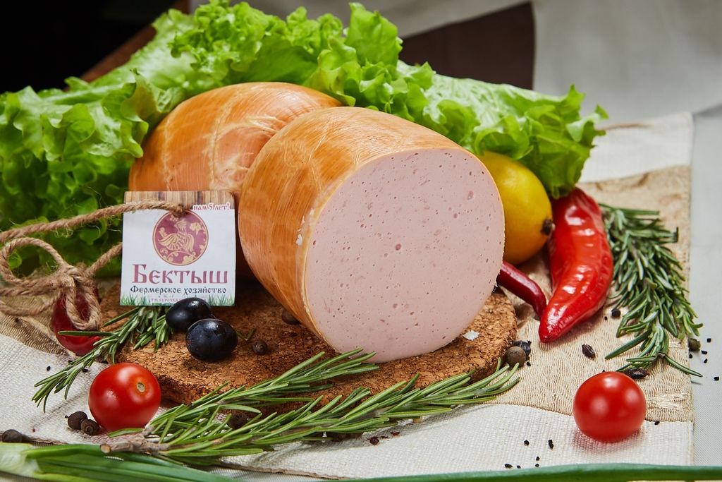 Колбаса Сливочная с мясом птицы, 1кг